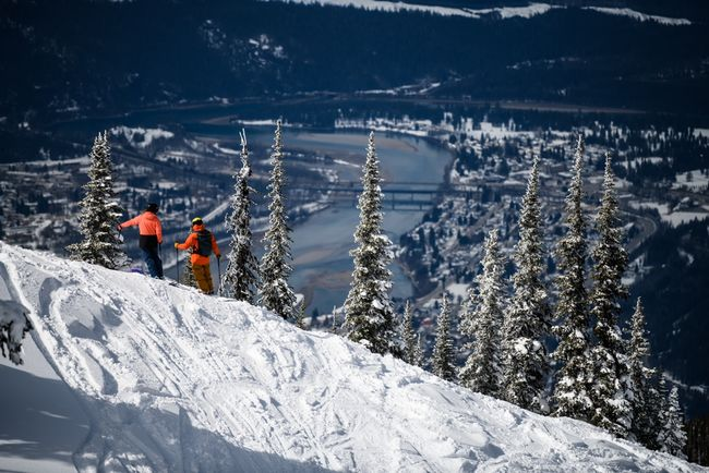 Looking down on Revelstoke from the slopes.jpg