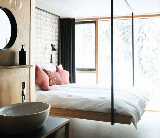 A sophisticated room in Rider's Palace hotel, Laax, Switzerland.jpg