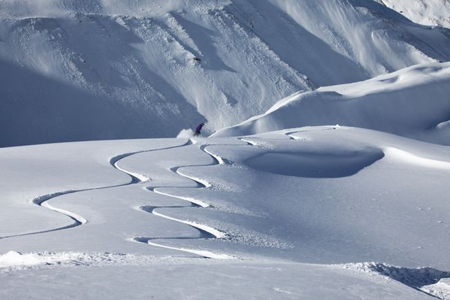 Wanaka New Zealand Snowboarding in powder.jpg